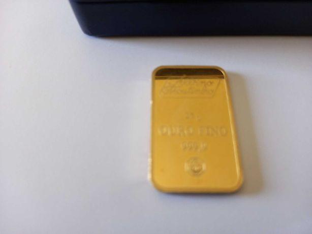 Barra de ouro 25gr