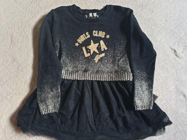 Jesienna sukienka Guess dla dziewczynki -3-4 lata