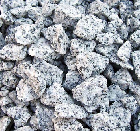 Grys Granitowy DALMATYŃCZYK Kamień Ogrodowy Grys Żwir Ozdobny 8-16 mm