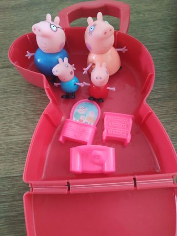 Свинка Пеппа семья свинок сумка Пеппа