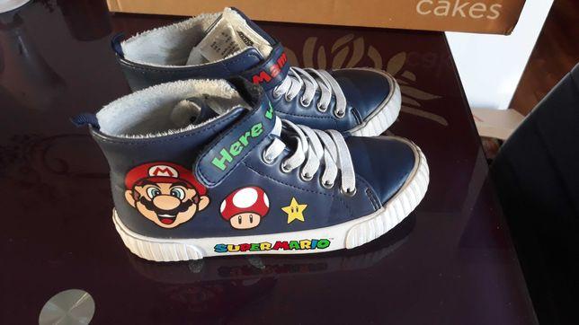 Buty chłopięce za kostkę H&M Super Mario