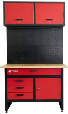 Bancada de trabalho c/ armário de parede HOLZMANN WHL1200