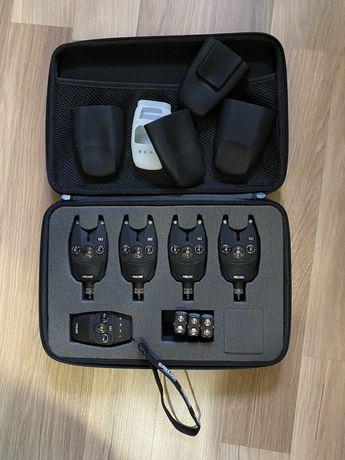 Сигналізатори покльовки Prologic SNZ Bite Alarm Kit 4+1