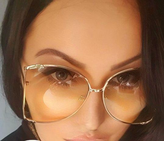 Okulary inspired styl Gucci model perła Królowe życia