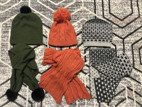 Шапка и  шарф шабор
