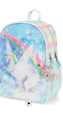 Рюкзак с единорогом Children's place
