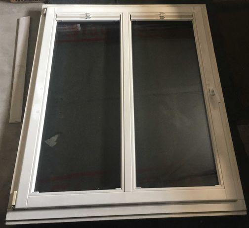 Okno drewniane z futryną