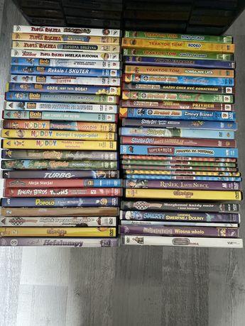Super zestaw 50 bajek DVD Bob Sam Noody