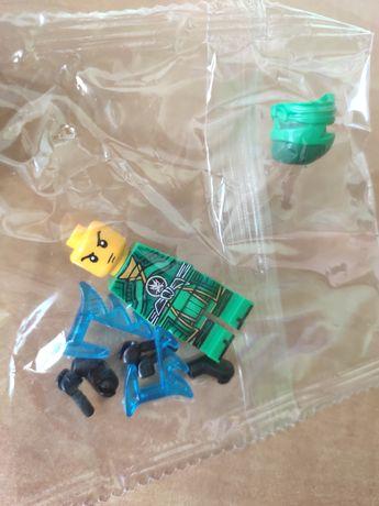 Nowa figurka zielonego wojownik ninja klocki