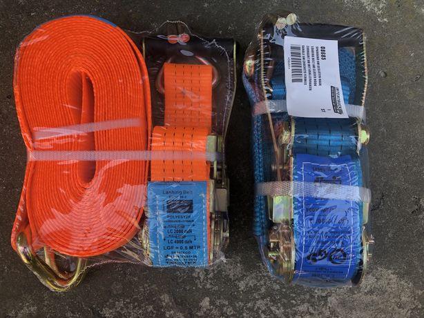 Ремни стяжные/ паси для кріплення грузу 5тон
