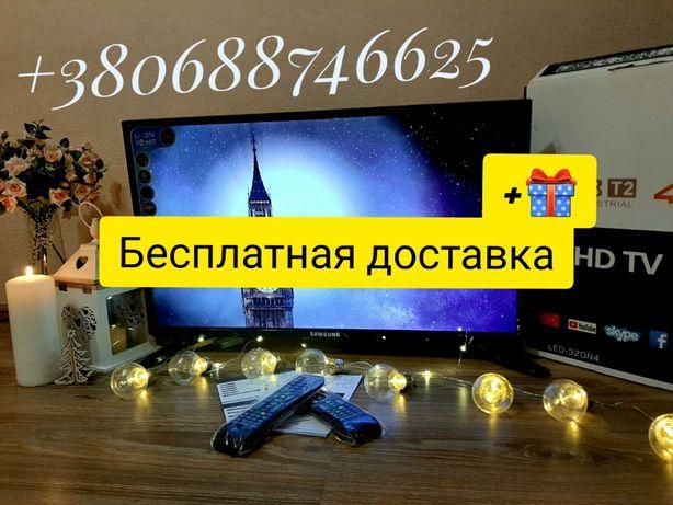 Телевизор Самсунг 32 дюйма Samsung Смарт Лед ТВ 4к Т2 9 андроид