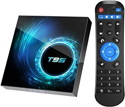 ⫸ Smart TV T95 4gb/64гб смарт тв приставка mini android box x96 h96