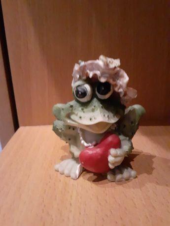 Figurka ozdobna żabka