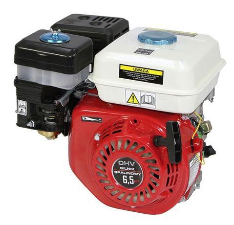 Silnik spalinowy 6,5 KM OHV wałek 20mm do pompy, zagęszczarki,gokartów