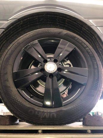 Vendo 4 Jantes originais (17) Mercedes Benz e respetivos pneus novos