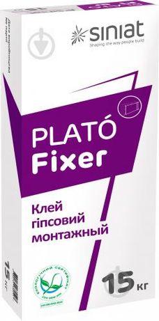 Клей для гипсокартона Plato Fixer 15кг, 25кг