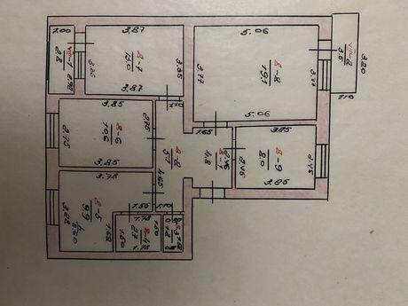 4-х кімнатна квартира
