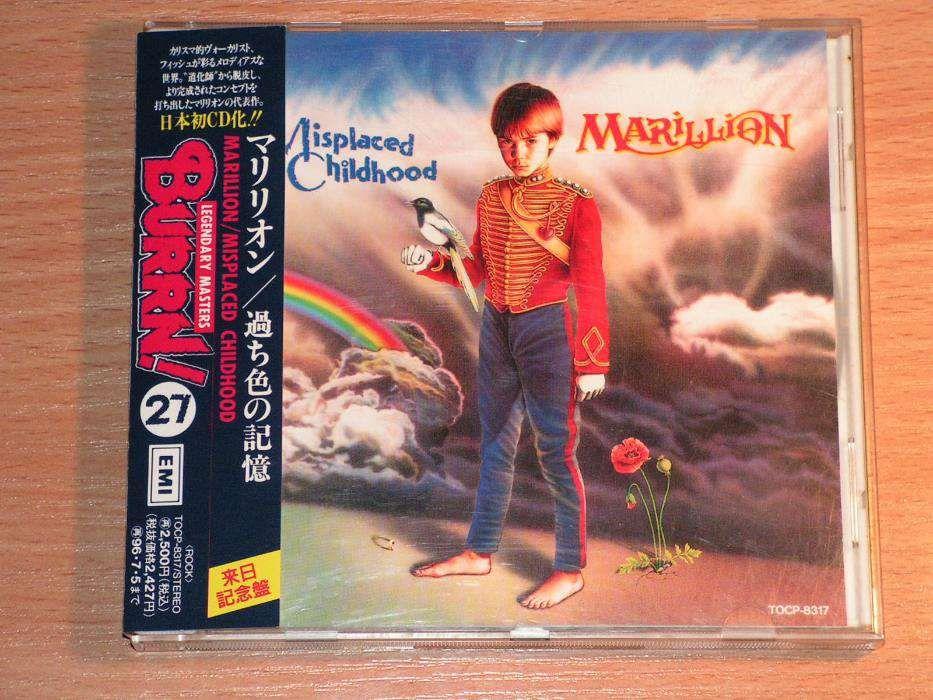 Marillion - Misplaced Childhood TOCP-8317 Japan OBI: 27