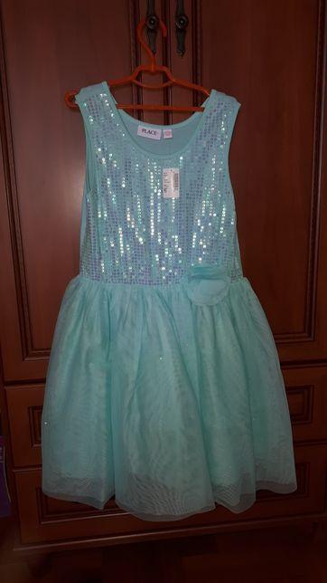 Платье нарядное Childrens place, 10-12 лет, новое