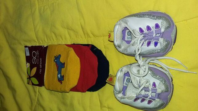 Собачки 2 кроссовка и носочки
