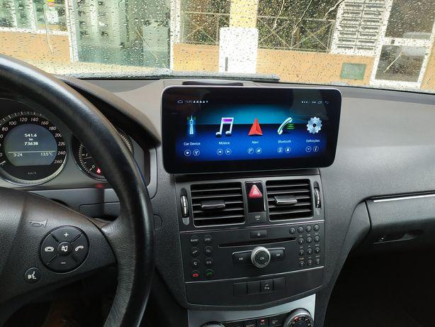 Mercedes Android Classe C W204 GPS BLUETOOTH USB CÂMARA
