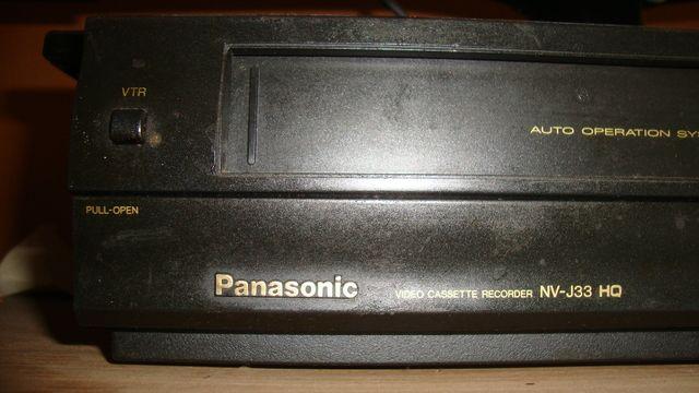 Odtwarzacz VHS Panasonic NV-J33 HQ