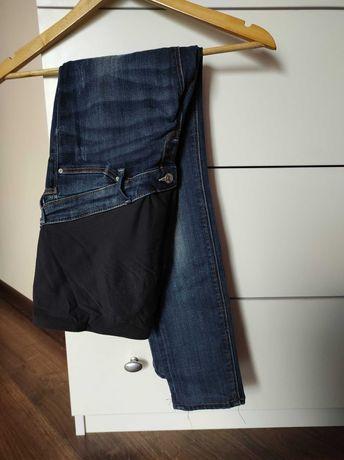 Spodnie ciazowe h&m mama 38 jeans