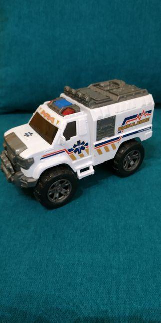 Dicke ambulans