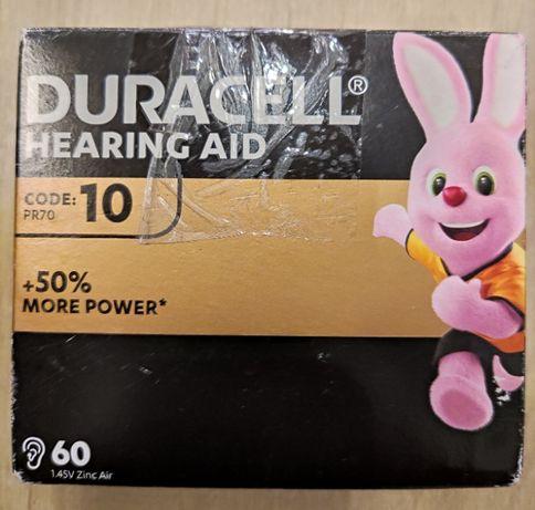 Baterie słuchowe DURACELL 10 PR70 60 szt