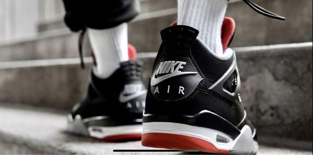 Jordan 4 retro bred originales