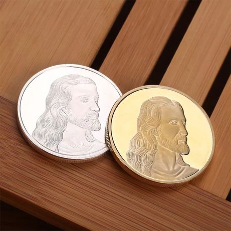 """Монета Иисус """"Тайная вечеря"""" в капсуле!!!"""
