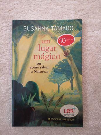 """Livro """"Um lugar mágico ou como salvar a Natureza"""""""