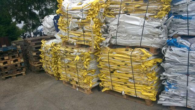 Hurtownia Worków Big Bag 90x90x120 cm używane czyste !