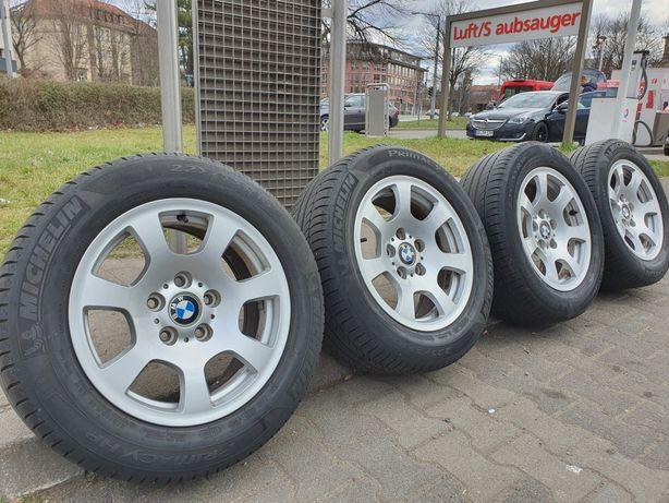 """4 Oryginalne Alufelgi BMW 16"""" +Opony letnie Michelin Insignia,T5"""