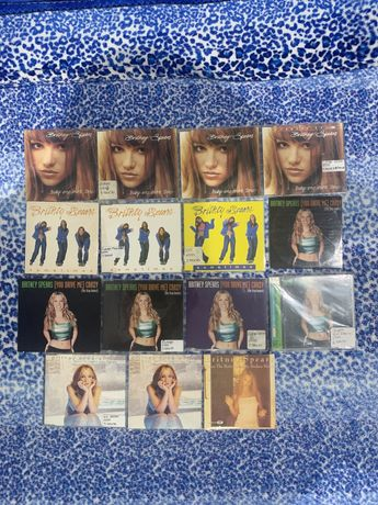 Britney speara baby one more time  15 singles