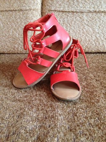Босоножки, сандали кожаные OLD Navy, 32 р. (21 см)