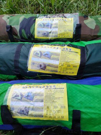 В НАЛИЧИИ Автоматические палатки 2х, 4х, 6ти местные, разных цветов