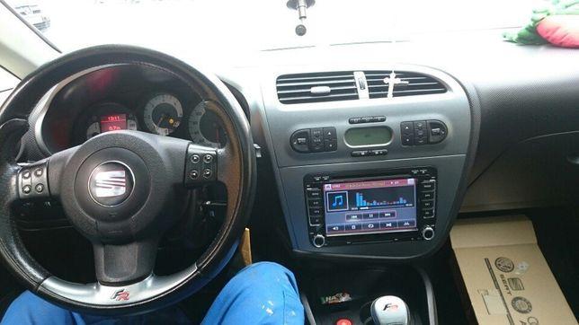Radio Samochodowe 2DIN Seat Leon Altea XL Alhambra Toledo Nawigacja