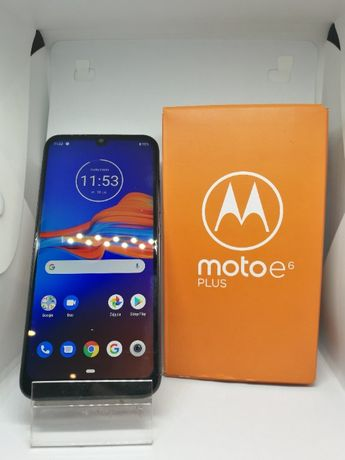 (3769/20) D Motorola Moto E6 Plus +Pudełko