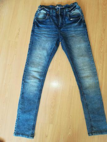 Wąskie Jeansy z kapphall stan idealny