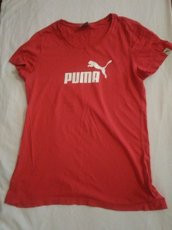 sportowa koszulka marki puma r.36/38