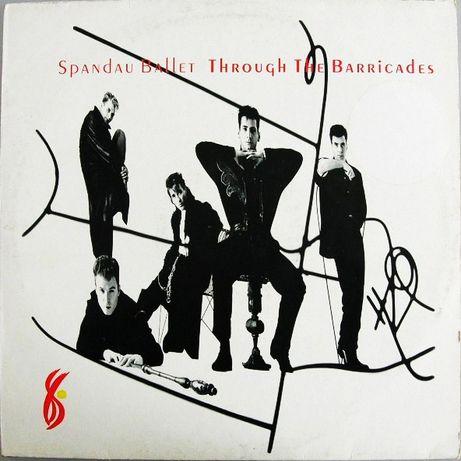 виниловая пластинка Spandau Ballet – Through The Barricades 1986 г