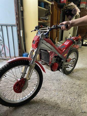 Vendo moto gas gas trial