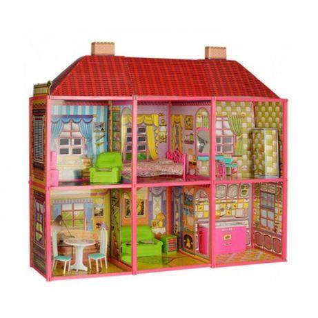 Милана, кукольный дом большой.  2 этажа, 6 комнат