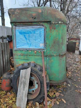 Продам металеву будку з частини автобуса