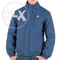 Adidas padded jacket blue XL - novo e original