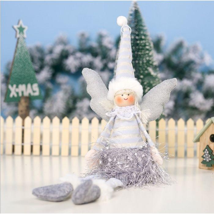 Anioł Świąteczny Boże Narodzenie Siedzący 38 Cm Katowice - image 1