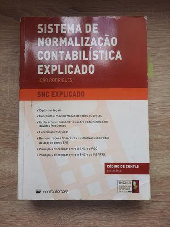SNC explicado  - sistema de normalização contabilística