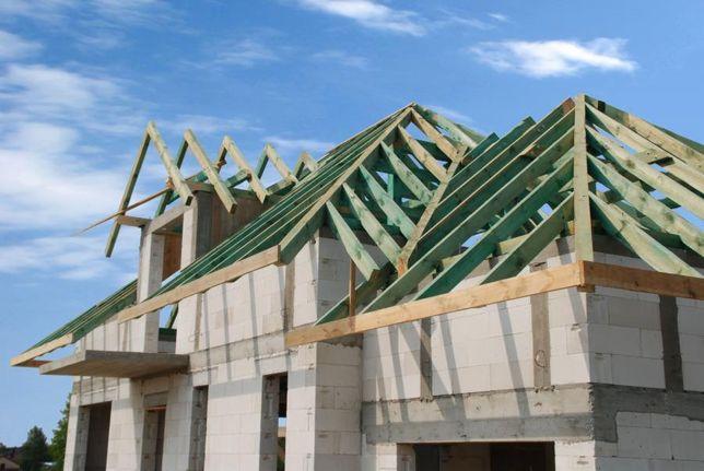 Więźba Dachowa, Drewno na Dach, Konstrukcje Dachowe, Belki, Krokwie