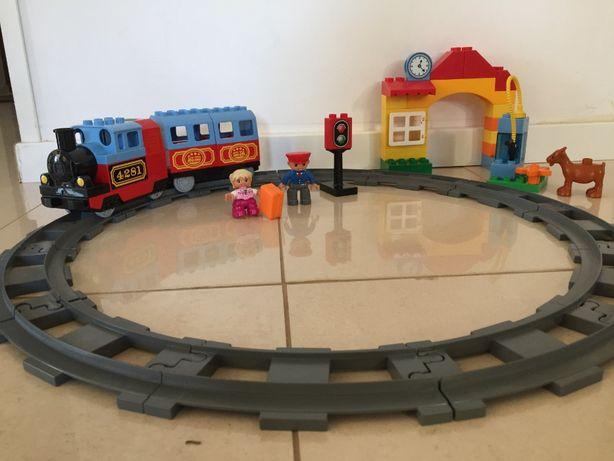 Lego Duplo Kolejka Elektryczna